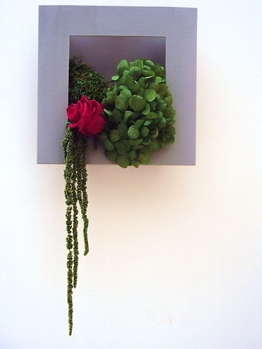 tableau vegetal fleurs stabilisees pas cher. Black Bedroom Furniture Sets. Home Design Ideas