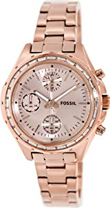 Fossil Dylan CH2826 Stainless Steel Watch - Rose