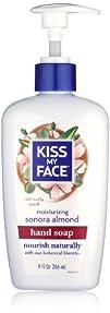 Kiss My Face Sonora Almond Liquid Moisture Soap 9-Ounce