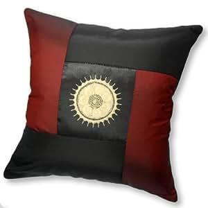 Oriental Throw Pillow Covers : share facebook twitter pinterest silky burgundy black de has been added