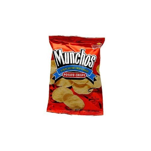 Amazon.com: Munchos Potato Crisps, 6.25oz (Pack of 4)
