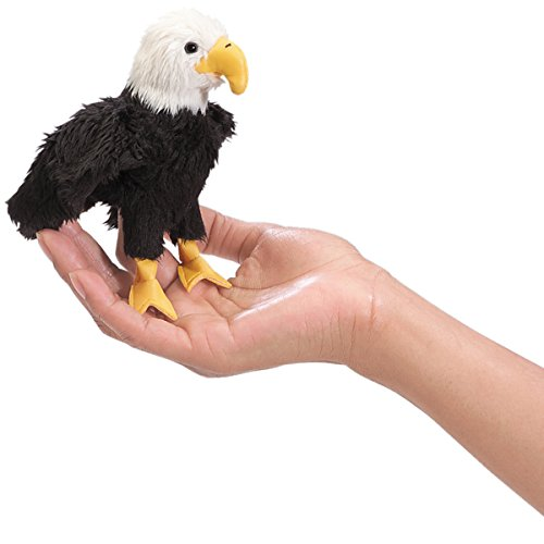 Folkmanis Mini Eagle Finger Puppet