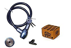 Autosun Steel Cable For Bike And Cycles Helmet Lock