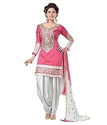Kaizen Export Pink Designer Salwar Suit (KEssp5y)
