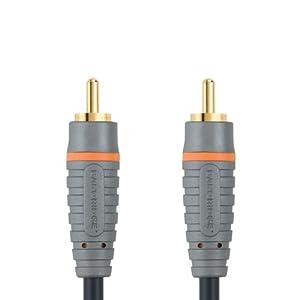 Bandridge BAL4802 - Cable coaxial (RCA, RCA) Negro