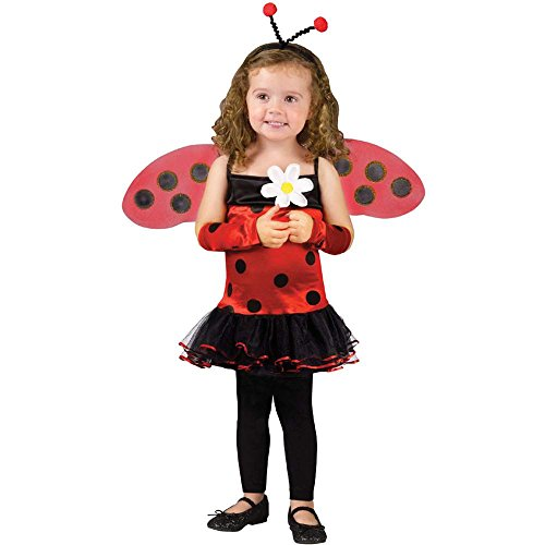 Lovely Ladybug Toddler Costume - 24 Months-2T back-908239