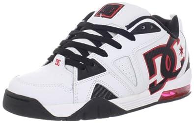 DC Shoes Cortex, Chaussures de skate homme Blanc (Wht/Black/Red), 43
