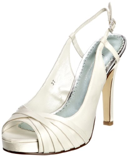 Van Dal Women's Lucinda Ivory Silk Bridal 8524100 5 UK