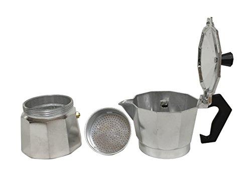 Maxware Aluminum 6-Cup Stovetop Espresso Maker