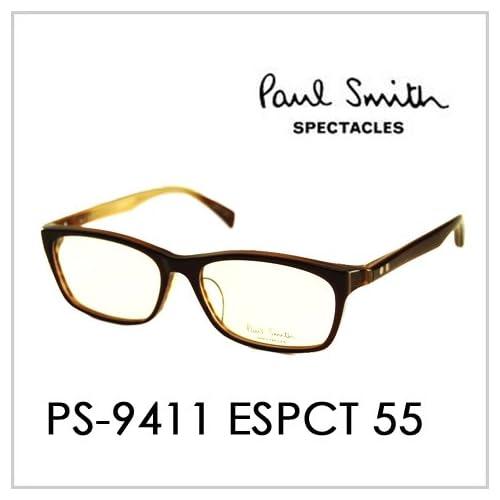 PAUL SMITH ポールスミス  メガネフレーム サングラス 伊達メガネ 眼鏡 PS-9411 ESPCT 55 PAUL SMITH専用ケース付 スペクタクルズ