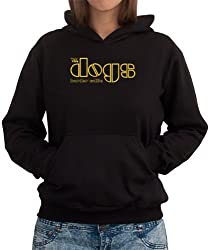THE DOGS Border Collie THE DOORS TRIBUTE Womens Hoodie