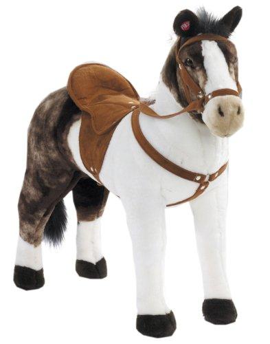 happy-people-peluche-cheval-rassepferd-pinto-avec-son