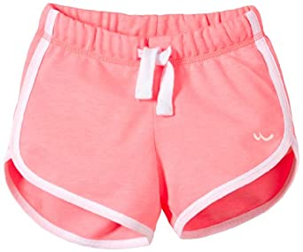 LTB Jeans - Sumi Short - Short de sport Fille - Rose (Fluo Pink) - FR : 12 ans (Taille fabricant : 152)