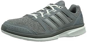 adidas  epic elite m, Chaussures de course pour homme cblack/cblack/maroon - Gris - Grau (Tech Grey F12 / Tech Grey Met. S14 / Running White), 46 EU (11 ) EU