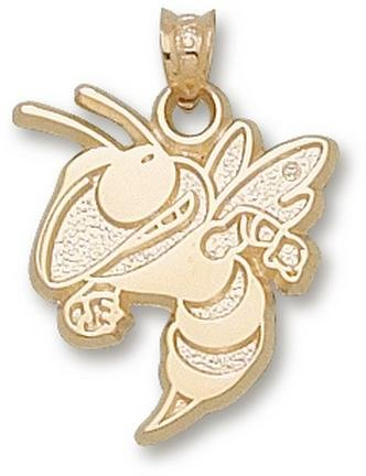 Georgia Tech Yellow Jackets Buzz 11 16 Lapel Pin - 14KT Gold Jewelry by Logo Art