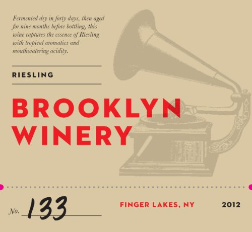 2012 Brooklyn Winery Stainless Steel Aged Riesling 750 Ml