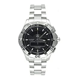 TAG Heuer Men s CAF1010 BA0821 Aquaracer Chronotimer Analog-Digital Watch
