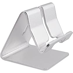 Honsky®Solid Portable Aluminum Desktop Stand Smart Phone Holder for Desk Bed,iPad Mini Stand Tablet Stands for iPhone 6 6+ 6 Plus 3G 3GS 4 4S 5 5C 5S Ipad 2,Ipad 3 Ipad 4,Ipad Mini,iPod touch Samsung Galaxy S3 i9300 S4 95