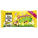 Nestle Toll House Springtime Semi-sweet Chocolate Baking Chips with Pink & Yellow Colored Morsels, Limited Edition 10 Oz Bags (2 Pack)