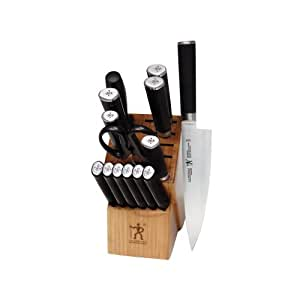 J.A. Henckels International Mikado 15-Piece Block Knife Set