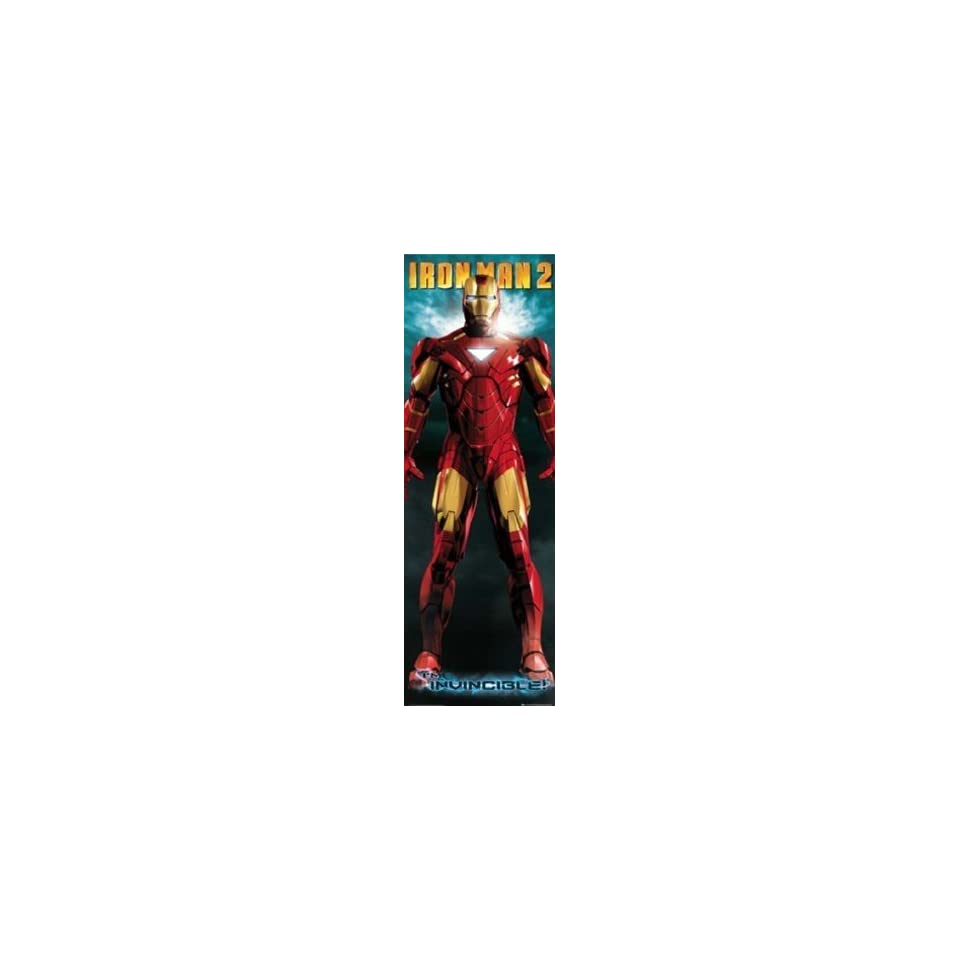 Iron Man Armor Comic Book Superhero Movie Giant Door Poster 21 x 69 inches