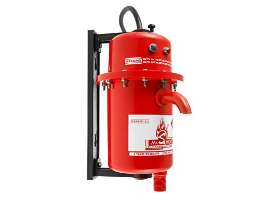 Mr.SHOT Instant Running Water Heater Made of first class ABS plastic, Manual Reset model