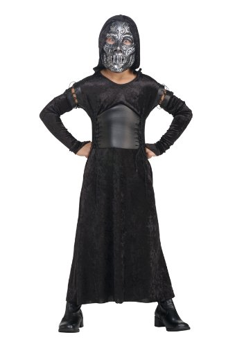 Harry Potter And The Deathly Hallows, Child's Death Eater Bellatrix Costume And Mask