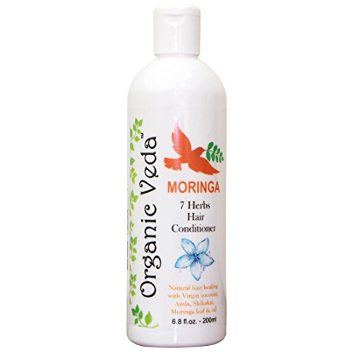 Organic Moringa 7 Herbs Hair Conditioner - 200 Ml *** All Natural ***