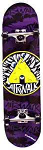 Buy Airwalk Unraveled Complete Skateboard, Purple by Airwalk