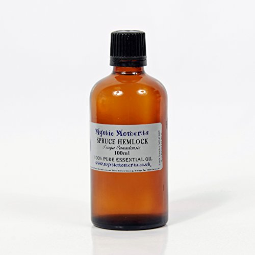 Mystic Moments Spruce Hemlock Essential Oil 100% Pure 100Ml