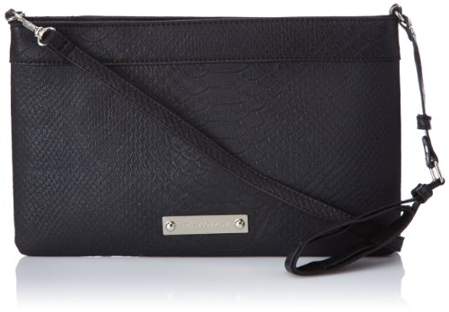 Friis & Company Women's Talin Clutch - Black, - Top-Handle Bag Gray Gris (Grey) Taille Unique