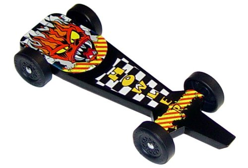 The Howler Extreme Speed Pinewood Derby Car Kit