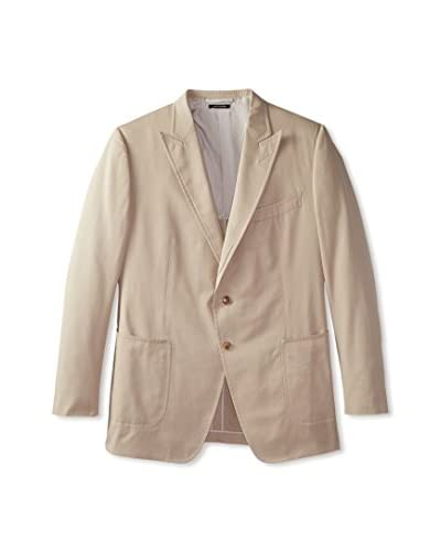 Tom Ford Men's Peak Lapel Solid Sportcoat