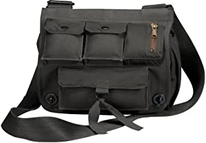 Black Venturer Survivor Military Shoulder Bag from Offered by Supply Sgt - ROTHCO