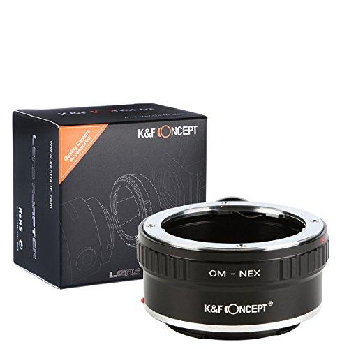 Adaptateur monture Bague adaptation pour objectif Olympus OM Zuiko à Caméra DSLR Sony pour appareil photo avec trépied en Métal