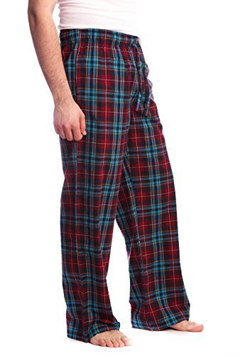 mens-flannel-pants-with-comfort-flex-waistband-small-red-blue-plaid