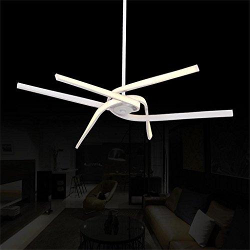 HOME-LED Chandelier Creative Arts personalità onda striscia lampadario twisted