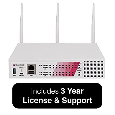 Check Point 770 Security Appliance Bundle with Threat Prevention, Wired - Includes 24x7 Support for 3 Years