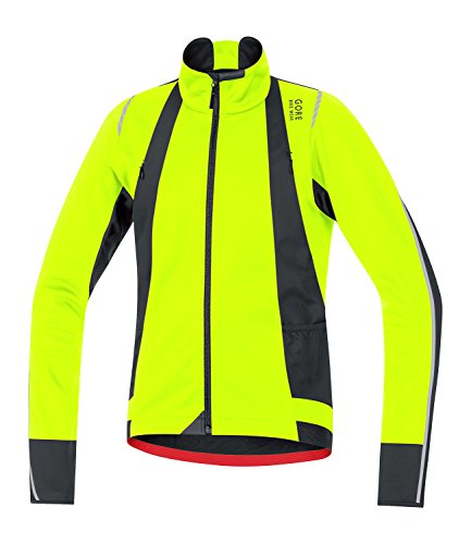 Gore Mens Oxygen Windstopper Soft Shell Cycling Jacket<br />