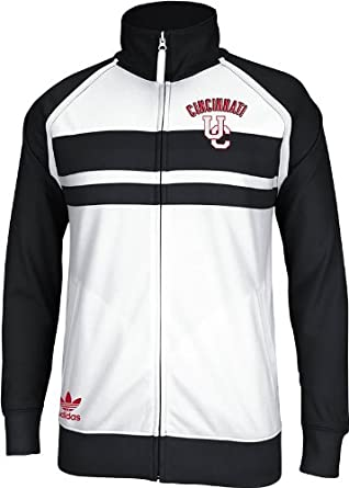 Cincinnati Bearcats Adidas White Track Jacket by adidas