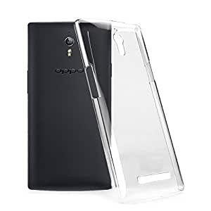 2010kharido Crystal Clear Transparent Hard Back Case Cover for Oppo 7a