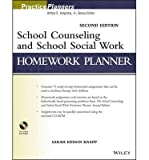 img - for [ { SCHOOL COUNSELING AND SCHOOL SOCIAL WORK HOMEWORK PLANNER (PRACTICEPLANNERS #321) } ] by Knapp, Sarah Edison (AUTHOR) Aug-12-2013 [ Paperback ] book / textbook / text book