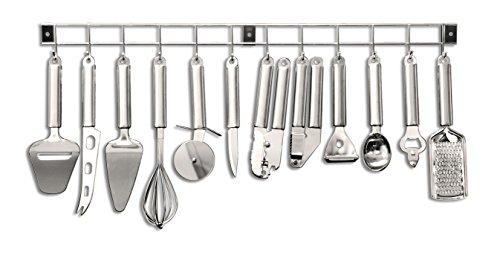 Tarrerias bonjean 430400 barra portautensili da cucina - Barra portautensili cucina ...