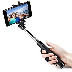 easyacc selfie stick wireless monopiede bluetooth universale con asta estendibile per iphone 6. Black Bedroom Furniture Sets. Home Design Ideas