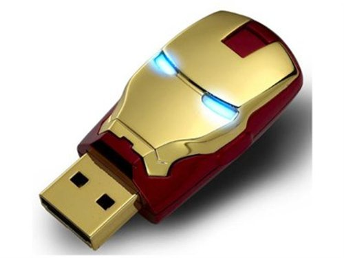 Marvel Avengers Iron Man 8GB Flash Drive