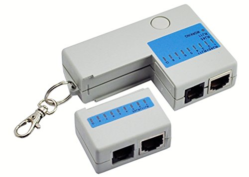 Amaranteen - Mini Rj45 Rj11 Cat5 Network Lan Cable Tester