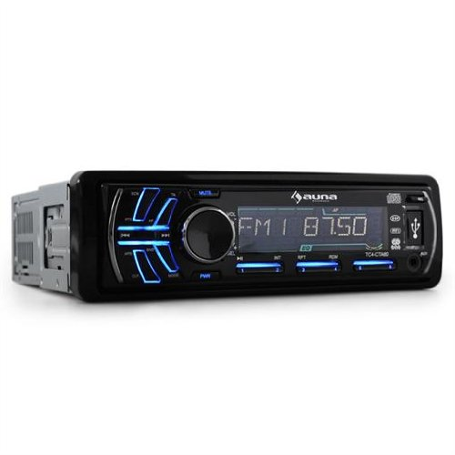 Auna volldigitales Autoradio CTA-60 mit MP3 CD-Player