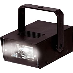 battery powered mini strobe light musical instruments. Black Bedroom Furniture Sets. Home Design Ideas
