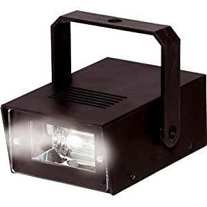battery powered mini strobe light musical. Black Bedroom Furniture Sets. Home Design Ideas