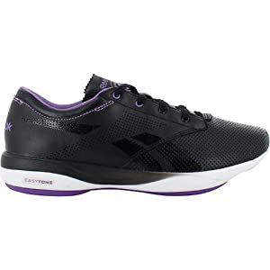 Reebok EasyTone Pride Women Schuhe black-white-major purple - 38